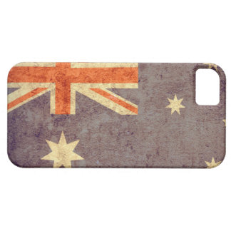 Australien flagga - Grunge Barely There iPhone 5 Fodral