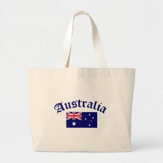 Australien flagga jumbo tygkasse