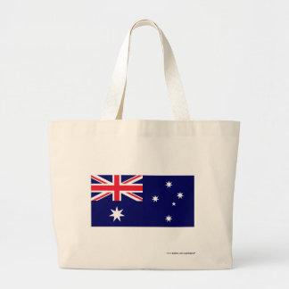 Australien flagga kassar