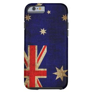 Australien flagga tough iPhone 6 fodral