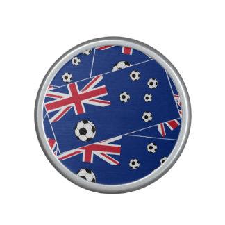 Australien fotbollflagga s6 pillow.png speaker