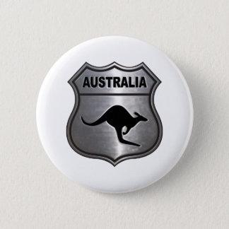 Australien känguru standard knapp rund 5.7 cm