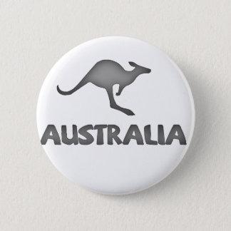 Australien kompis! standard knapp rund 5.7 cm