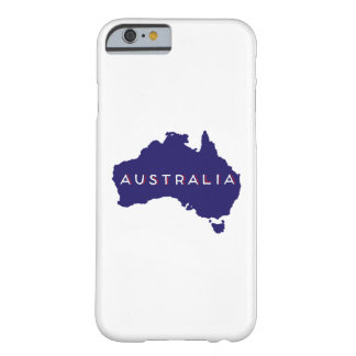 Australien landSilhouette Barely There iPhone 6 Fodral