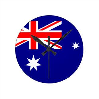 Australien Medium Rund Klocka