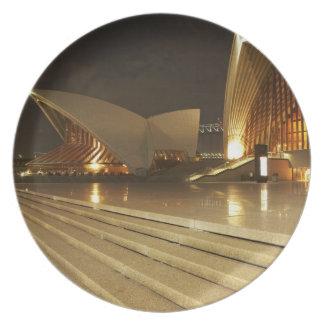 Australien New South Wales, Sydney, Sydney opera 2 Tallrik