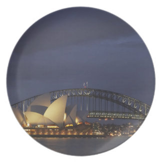 Australien New South Wales, Sydney, Sydney opera 3 Tallrik