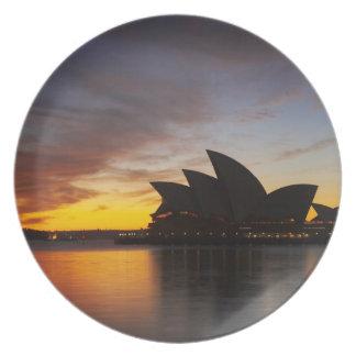 Australien New South Wales, Sydney, Sydney opera 5 Tallrik