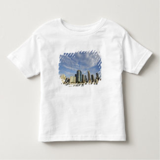 Australien Queensland, Brisbane, skyscraper och T-shirts