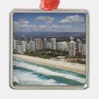 Australien Queensland, Gold Coast, huvudsaklig Julgransprydnad Metall