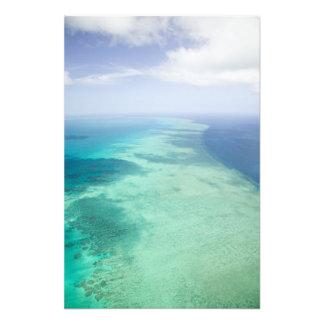 Australien Queensland, Whitsunday kusten som är un Fotontryck