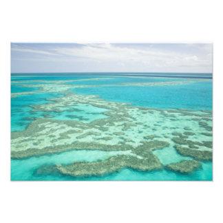 Australien Queensland, Whitsunday kusten som är un Fototryck