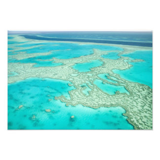 Australien Queensland, Whitsunday kusten, underbar Fototryck
