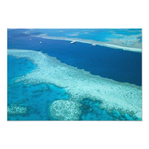Australien Queensland, Whitsunday kusten, underbar Konstfoto
