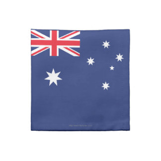 Australien slättflagga tygservett