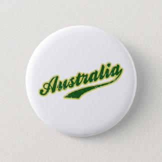 Australien Standard Knapp Rund 5.7 Cm