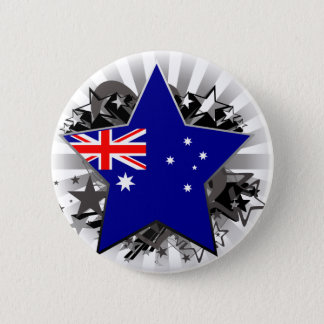 Australien stjärna standard knapp rund 5.7 cm