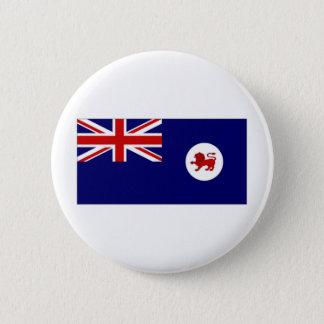 Australien Tasmania flagga Standard Knapp Rund 5.7 Cm