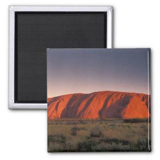 Australien Uluru nationalpark. Uluru eller Magnet