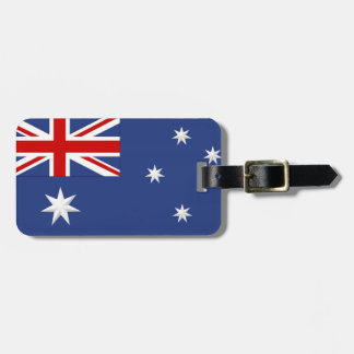 Australiensisk bagagemärkre (tillfoga din kontakt bagagebricka