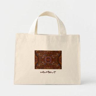 Australiensisk design för Aboriginal-stil Tote Bags