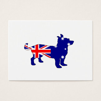 Australiensisk flagga - Chihuahua Visitkort