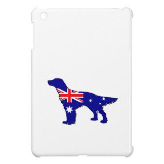 Australiensisk flagga - engelsk Setter iPad Mini Fodral