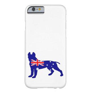 Australiensisk flagga - groptjurTerrier Barely There iPhone 6 Skal