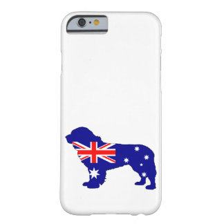 Australiensisk flagga - Newfoundland hund Barely There iPhone 6 Skal