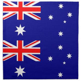 Australiensisk flagga på den MoJo servetten Servetter Med Tryck