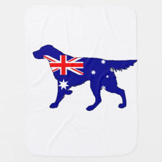 Australiensisk flagga - Setter Bebisfilt
