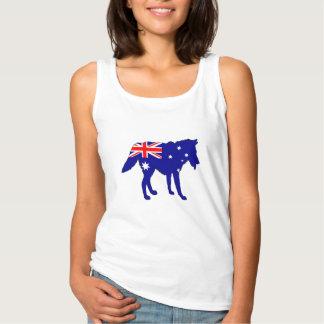 Australiensisk flagga - varg linne