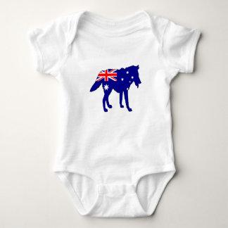 Australiensisk flagga - varg tröjor