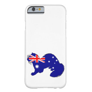 Australiensisk flagga - vessla barely there iPhone 6 skal