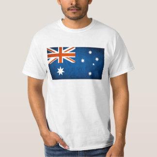 australiensisk flaggaolympiska spelsupporter tee