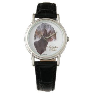 Australiensisk Kelpiehundkonst Armbandsur