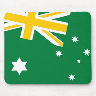 Australiensisk sportslig flagga Mousemat Musmatta