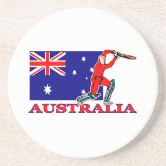 Australiensisk syrsaspelare underlägg sandsten
