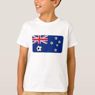 Australiensiska flaggafotbollbollar t shirts