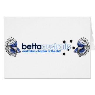 Australis Betta Hälsningskort