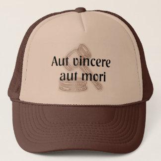 Aut Vincere Aut Mori. Advokathatten med latin Truckerkeps