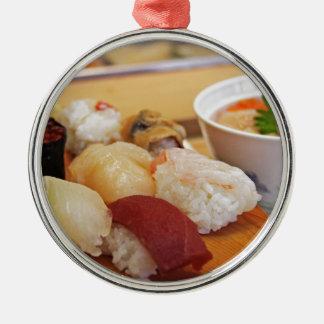 Autentisk SushiSashimi Julgransprydnad Metall