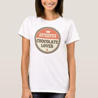 Autentisk Tshirt för chokladälskarevintage Tshirts