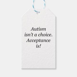 Autism är inte ett primat… presentetikett