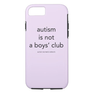 Autism är inte pojke klubb: smartphonefodral