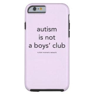 Autism är inte pojke klubb: smartphonefodral tough iPhone 6 fodral