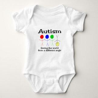 Autism som ser världen från en olik vinkel tee shirt