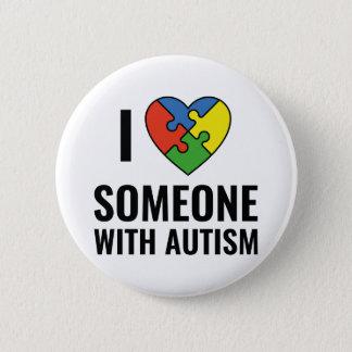 Autism Standard Knapp Rund 5.7 Cm