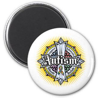 AutismCeltickor Magnet Rund 5.7 Cm