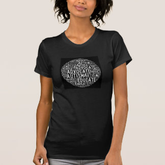 Autismförkämpen utbildar cirklar T-tröja Tröja